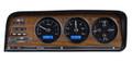 Dakota Digital 1973-85 Jeep Wagoneer/J-Trucks VHX Gauges - Black Alloy Face - Blue Display