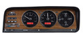 Dakota Digital 1973-85 Jeep Wagoneer/J-Trucks VHX Gauges - Black Alloy Face - Red Display