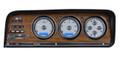 Dakota Digital 1973-85 Jeep Wagoneer/J-Trucks VHX Gauges - Silver Alloy Face - Blue Display
