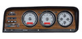 Dakota Digital 1973-85 Jeep Wagoneer/J-Trucks VHX Gauges - Silver Alloy Face - Red Display