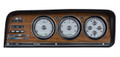 Dakota Digital 1973-85 Jeep Wagoneer/J-Trucks VHX Gauges - Silver Alloy Face - White Display