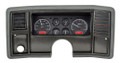 Dakota Digital 1978-88 Monte Carlo/El Camino/Malibu/Caballero VHX Gauges - Black Alloy Face - Red Display