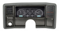Dakota Digital 1978-88 Monte Carlo/El Camino/Malibu/Caballero VHX Gauges - Black Alloy Face - White Display