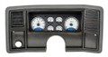 Dakota Digital 1978-88 Monte Carlo/El Camino/Malibu/Caballero VHX Gauges - Silver Alloy Face - Blue Display