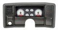 Dakota Digital 1978-88 Monte Carlo/El Camino/Malibu/Caballero VHX Gauges - Silver Alloy Face - Red Display