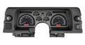 Dakota Digital 1990-92 Chevy Camaro VHX Gauges - Black Alloy Face - Red Display