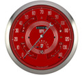 V8 Red Steelie Big Ol' Gauge - Classic Instruments - BOGV8RS