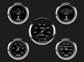 Classic Series Five Gauge Set, 3 3/8 - Classic Instruments - CL900SRC