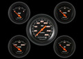 Velocity Black Series Five Gauge Set - Classic Instruments - VS00BBLF