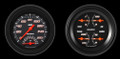 Velocity Black Series Two Gauge Set - Classic Instruments - VS32BBLF