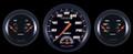 Velocity Black Series Three Gauge Set - Classic Instruments - VS61BBLF