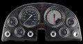AutoCross Grey 1963-67 Corvette Gauges - Classic Instruments - CO63AXG