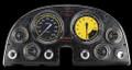 AutoCross Yellow 1963-67 Corvette Gauges - Classic Instruments - CO63AXY
