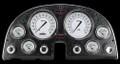 Classic White 1963-67 Corvette Gauges - Classic Instruments - CO63CW
