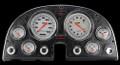 Velocity White 1963-67 Corvette Gauges - Classic Instruments - CO63VSW