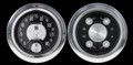 All American Tradition 1954-55 Chevy PU Gauges w/Speedtachular - Classic Instruments - CT54AT62