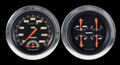Velocity Series Black 54-55 Chevy PU Gauges w/Speedtachular - Classic Instruments - CT54VSB62