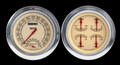 Vintage 54-55 Chevy PU Gauges w/Speedtachular - Classic Instruments - CT54VT62