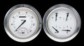 White Hot 54-55 Chevy PU Gauges w/Speedtachular - Classic Instruments - CT54WH62