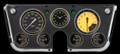 Auto Cross Yellow 1967-72 Chevy Gauges - Classic Instruments - CT67AXY