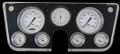 White Hot 1967-72 Chevy Gauges - Classic Instruments - CT67WH
