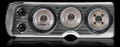 All American Nickel 1964-65 Chevelle Gauges - Classic Instruments - CV64AN