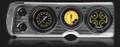AutoCross Yellow 1964-65 Chevelle Gauges - Classic Instruments - CV64AXY