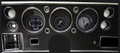 AutoCross Gray 1970-72 Chevelle SS / Monte Carlo / El Camino Gauges - Classic Instruments - CV70AXG