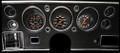 Velocity Series Black 1970-72 Chevelle SS / Monte Carlo / El Camino Gauges - Classic Instruments - CV70VSB