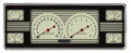 Nostalgia VT 1940 Ford Car Gauges - Classic Instruments - FC40NT