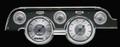 All American 1967-68 Mustang Gauges - Standard Bezel - Classic Instruments - MU67AW