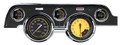 Auto Cross Yellow 1967-68 Mustang Gauges - Standard Bezel - Classic Instruments - MU67AXY