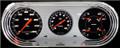 Velocity Black 1963-65 Nova Gauges - Classic Instruments - NO63VSB