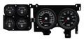 New Vintage Black Performance Series 73-87 Chevy PU Gauge Kit - 73016-01