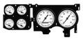 New Vintage White 1940 Series 73-87 Chevy PU Gauge Kit - 73406-03