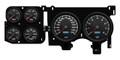 New Vintage Black Performance II Series 73-87 Chevy PU Gauge Kit - 73026-01