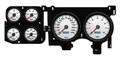 New Vintage White Performance II Series 73-87 Chevy PU Gauge Kit - 73026-03