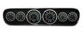 New Vintage Black 69 Series 64 1/2 - 66 Mustang Prog Speedo Gauge Kit w/Bezel - 69706-03