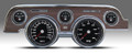 New Vintage BK Woodgrain Perf Series 67-68 Mustang Pre-Wired Gauge 01717-01