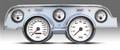 New Vintage WT Alum Case Perf Series 67-68 Mustang Pre-Wired Gauge 01727-03
