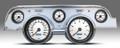 New Vintage WT Alum Case Perf II Series 67-68 Mustang Pre-Wired Gauge 02727-03