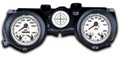 New Vintage White Performance Series 71-73 Mustang Gauges - 71201-03
