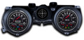 New Vintage Black 67 Series 71-73 Mustang Gauges - 71267-01