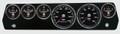 New Vintage Black Performance Series 67-70 Mopar A-Body Gauges - 01677-01