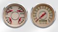 """New Vintage Beige Woodward Series 2 Gauge Kits ~ 3-3/8"""" - 37204-02"""