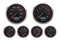 "New Vintage CFR Redline Series 6 Gauge Kit ~ 3 3/8"" Speedo/Tach - 20649-01"