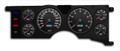 New Vintage Black Performance II Series 1979-86 Mustang Gauge Cluster - 79211-01