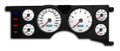 New Vintage White Performance II Series 1979-86 Mustang Gauge Cluster - 79211-03