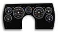New Vintage Black Performance Series 1982-89 Camaro Gauge Kit (Mech Speedo) - 86101-01