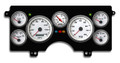 New Vintage White Performance Series 1982-89 Buick Regal GN Gauge Kit (Prog Speedo) - 82111-03